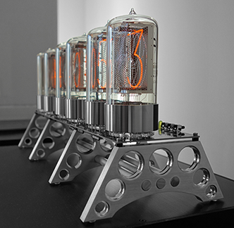 nixie clock with 53mm digit height